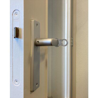 Deurstopper / Deurklink Buffer Transparant op deurklink