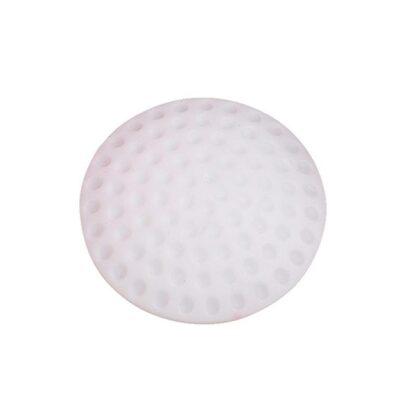 Deurstopper wit rubber Ø 5 cm (per stuk)